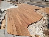 התקנת דק עץ בחיפה