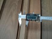 מדידת דק עץ לגינה