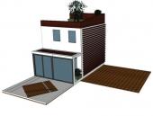 תכנון דק עץ לבית