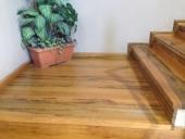 פודסט למדרגות עץ אגוז אפריקאי