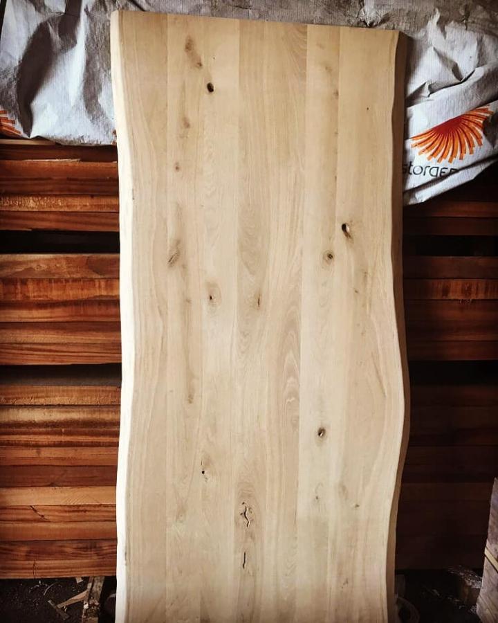 פלטות עץ אלון צרפתי מלא