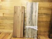 מדפים מעץ אגוז ואלון